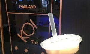 【バンコク】台湾発タピオカティースタンド「KOI Thé」