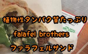 WE LOVE VEGAN FALAFEL BROTHERSファラフェルブラザーズ